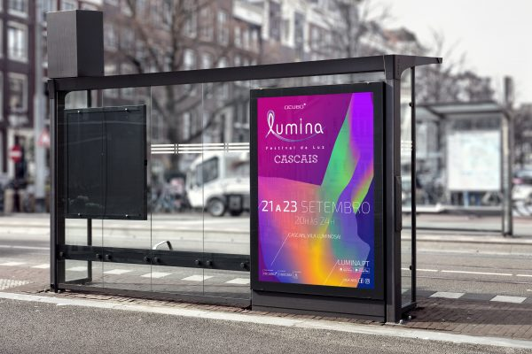 Bus Stop Billboard MockUp 2