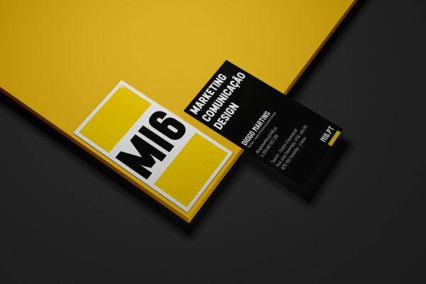 Cartões MI6 mockup